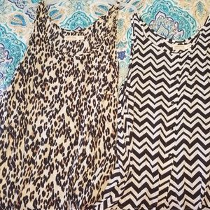 Cute Dressy  Tank Top Bundle of 2